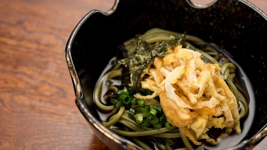 *【夕食/蕎麦】長崎はもちろん蕎麦も有名!香りやのどごしを楽しんでください