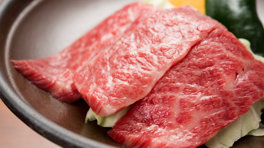 *【夕食/壱州牛】壱岐の自然と潮風に育まれた上質なお肉をどうぞ