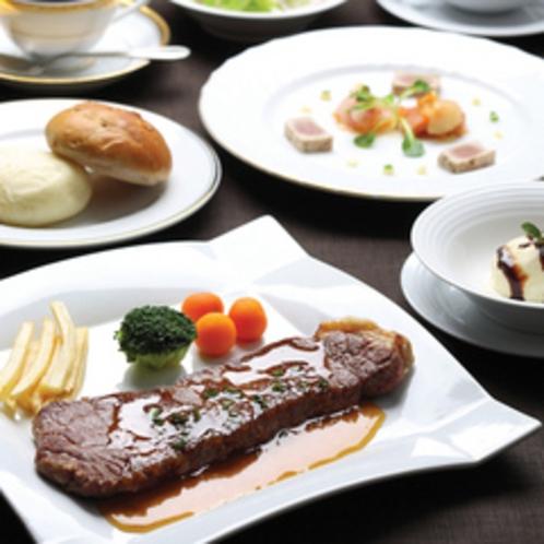 レストランディナー・ステーキコース