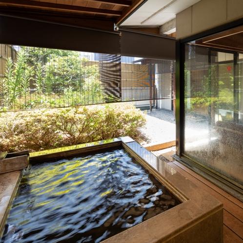● 露天風呂付和室★12畳+6畳+応接室+坪庭