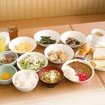 パ-クイン富山ご朝食