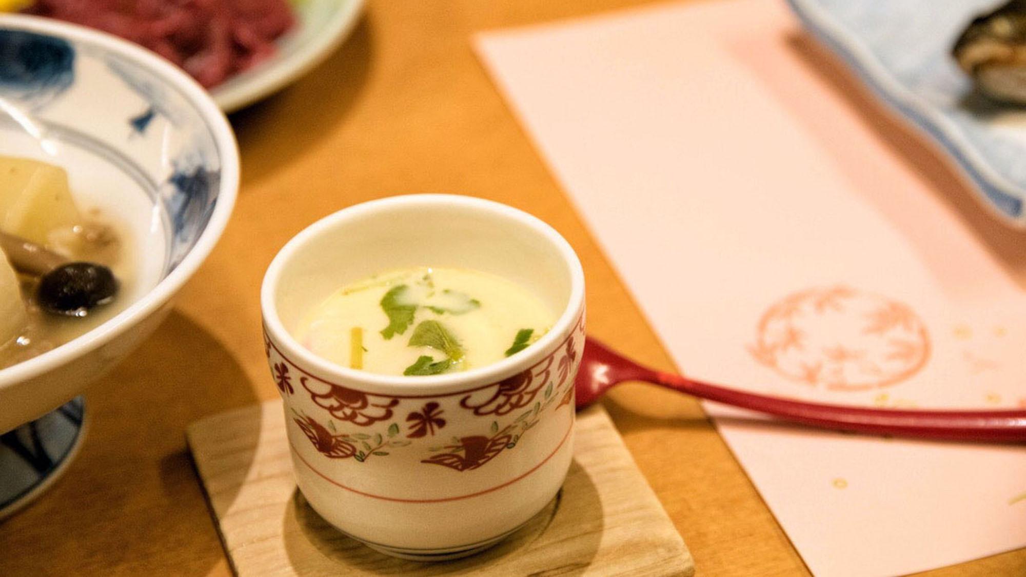 【田舎料理】茶碗蒸し