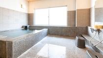 【貸切風呂】広い洗い場でお子様も一緒にごゆっくりと