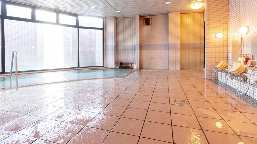 【姫の湯】大浴場内湯。