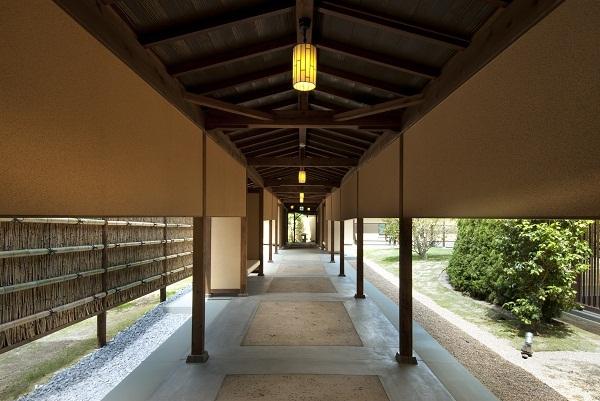 渡り廊下(宿泊棟)