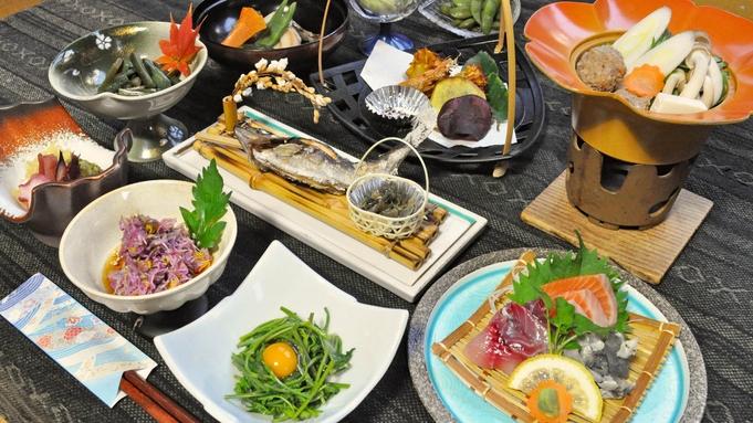 SNSで人気!新緑の季節は清津峡へ♪自慢の露天風呂と創作和食が好評(夕朝食付)