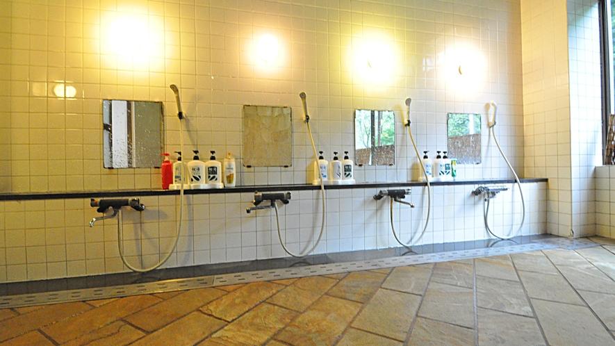 【浴場】洗い場 ※女性用