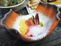 【夕食】酢の物(一例)