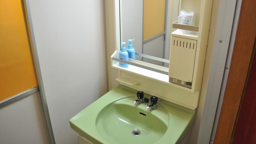 【和室10畳(トイレ付)】洗面台
