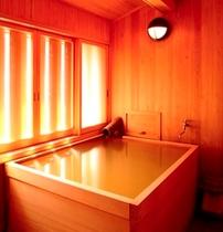 月山専用 箱檜葉風呂