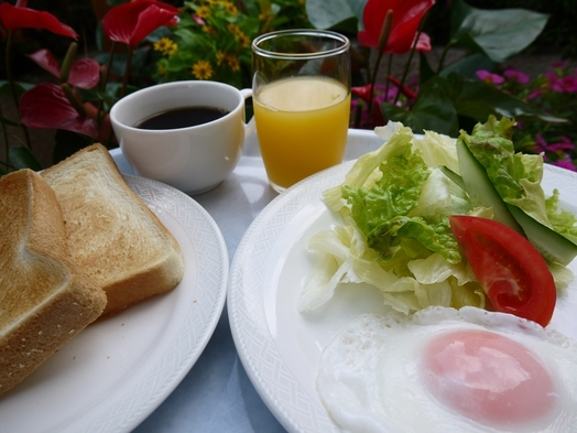 【夏旅セール】【禁煙【現金】★トースト・ご飯・お味噌汁・卵・サラダの無料朝食付き 【現金】