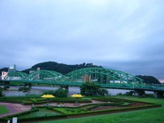 雨上がりの渡良瀬川