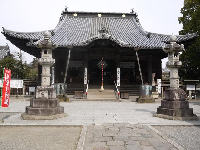 国宝ばん阿寺 本堂