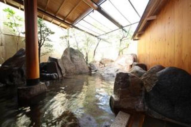 大浴場露天風呂(女湯)
