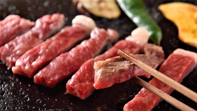 ≪★人気★≫溶岩石でジュワ〜!豊後牛をステーキで♪