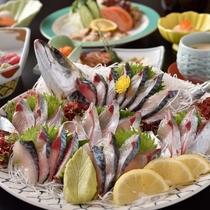 「関アジ」豊後水道で漁獲され、新鮮さが違います