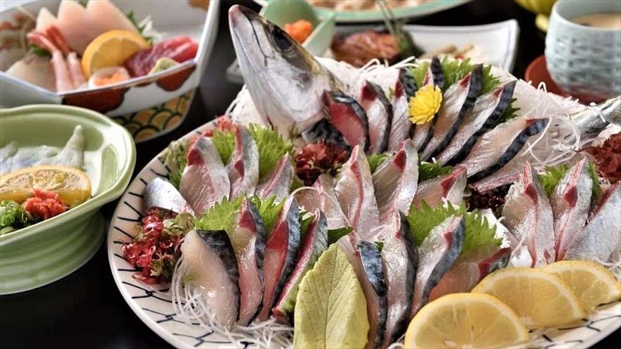 「関アジ」豊後水道で漁獲され、新鮮さが違います。
