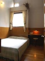 2室だけのダブルベッド室(2名室)