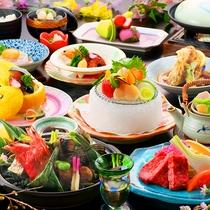 美味洗練を極めたお料理をお愉しみください……※イメージ