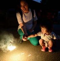夏の思い出に花火を♪家族で愉しむ花火プラン