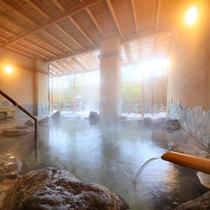 とどろきの湯:露天風呂