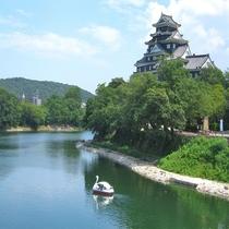 岡山城(川辺)