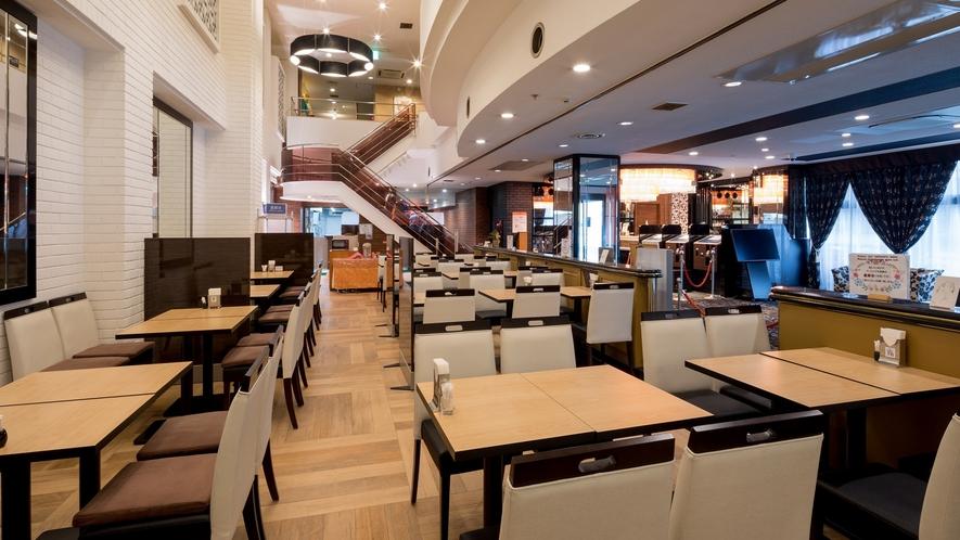 1階レストラン「モーニングファーム」