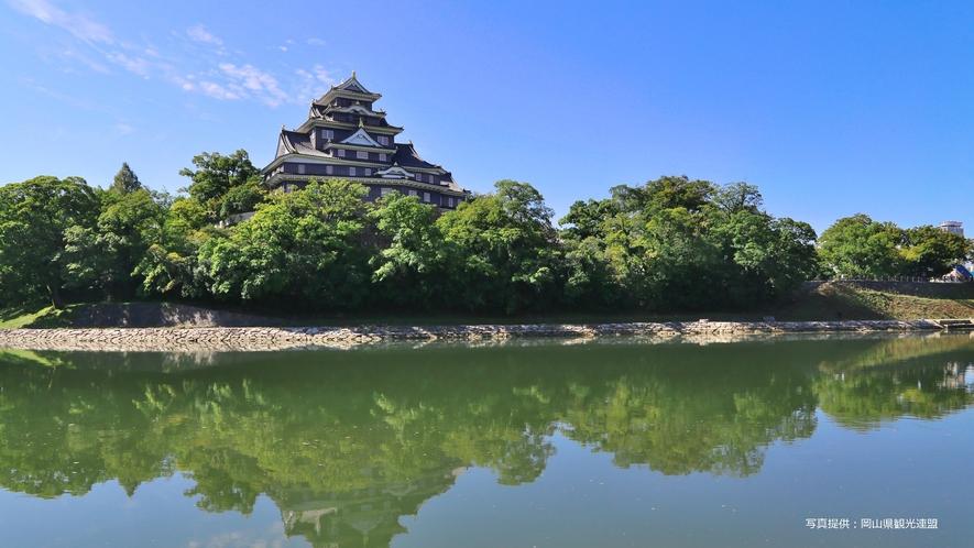 【観光スポット】岡山城