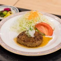 日替わりランチ ハンバーグステーキ定食
