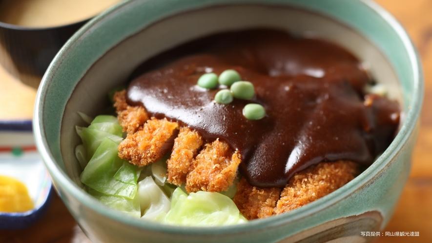 【岡山グルメ】おかやまデミカツ丼