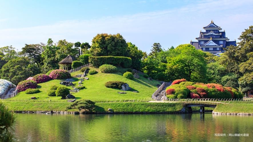 【観光スポット】岡山後楽園