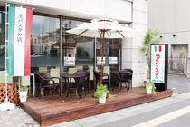 朝食会場1階レストランペコリーノ