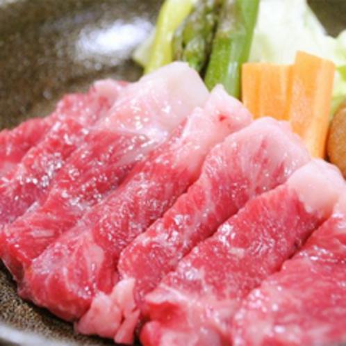 国産和牛ステーキ陶板焼き