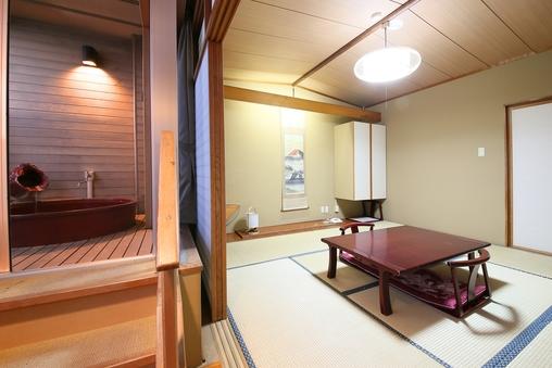 露天風呂付客室(禁煙和室)