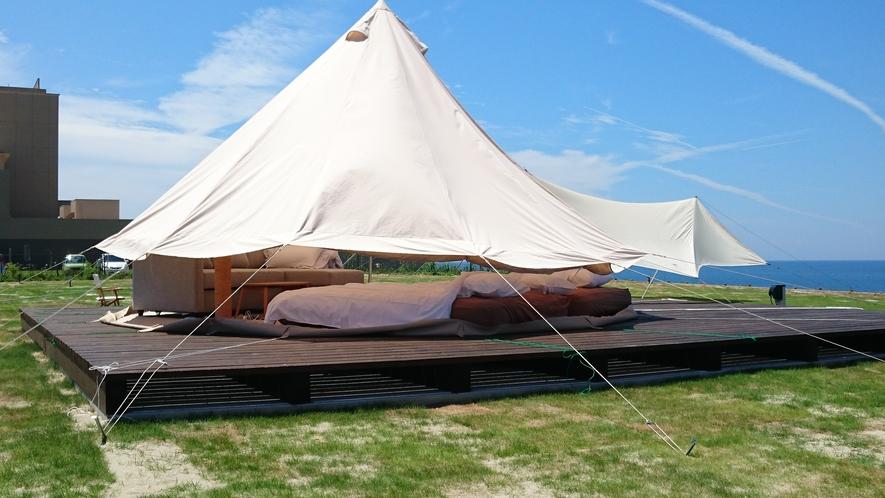 グランピング テント2