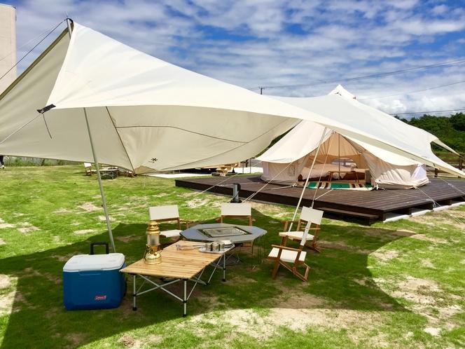 グランピング テント1