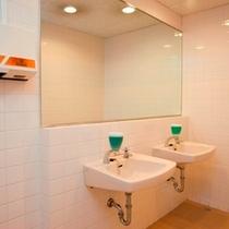 共同トイレ洗面台