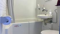 和洋室はユニットバス・トイレ・ミニキッチン付です。
