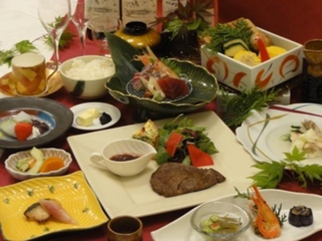 夏期特別プラン夕食一例