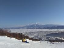 富良野スキー場のようす