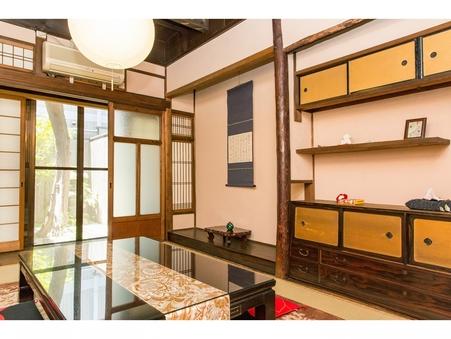 築80年以上の昔ながらの京町家を10名様まで贅沢に一軒貸切!