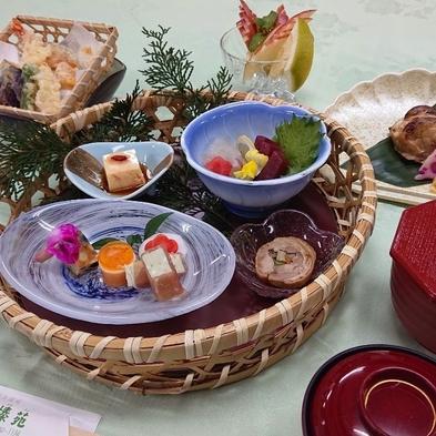 【彩り膳(いろどりぜん)】お食事は少なめという方に★季節の焼き物・お造り3種・天ぷら盛り合わせなど♪