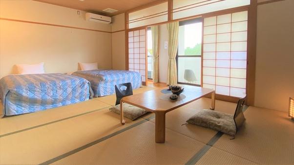 【禁煙】和室・洋室 ツインベッドルーム