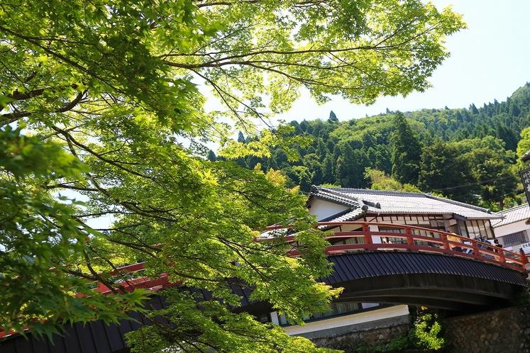 「室生寺」付近の景観