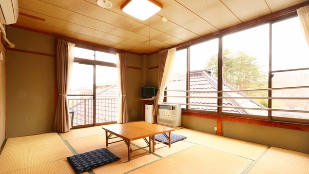 ゆったりのんびり寛げる、和室10畳◆