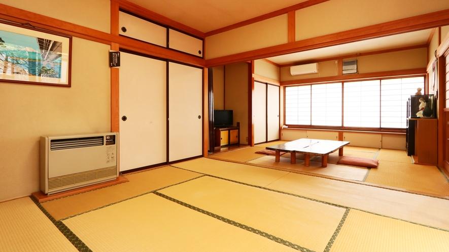 8+8畳二間◆広縁からは庭園を眺めることができます
