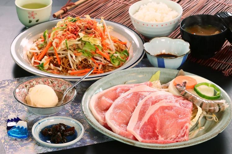 豚肉◆リーズナブル価格で熔岩焼きを味わうならコレ!