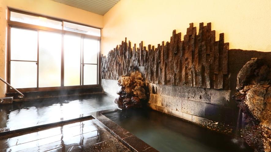 熔岩風呂◆男女各1箇所ございます
