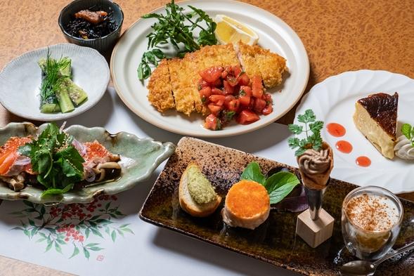 リーズナブル!和食コース(新作オードブルと創作料理★朝食はクロックムッシュとフルーツスムージー