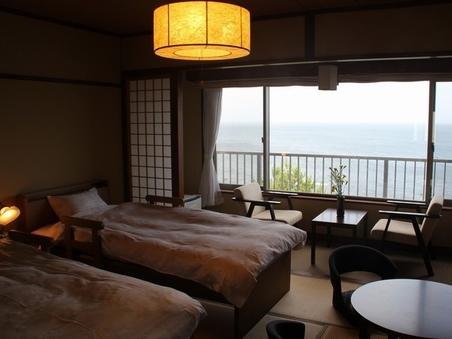 海の見える和室ツインルーム【トイレ・洗面台付き】